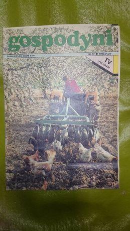 retro gazeta czasopismo Gospodyni tygodnik vintage 1990r