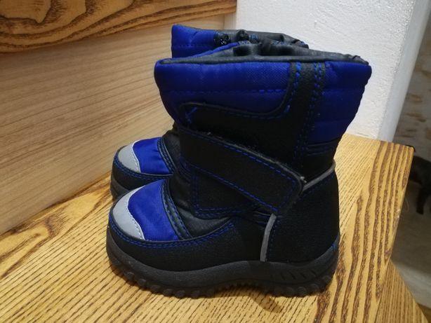 Buty zimowe, śniegowce rozm.23, zima