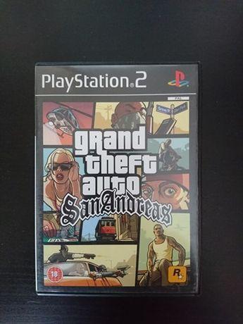 GTA/Grand Theft Auto San Andreas PS2/Playstation2 - 100 % sprawna