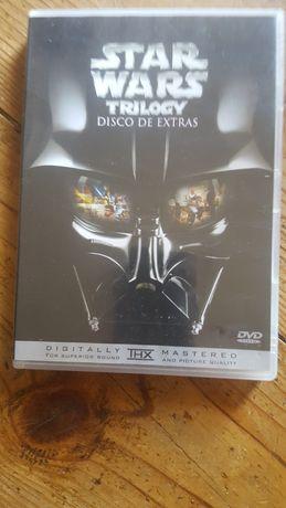 DVD stars wars de extras