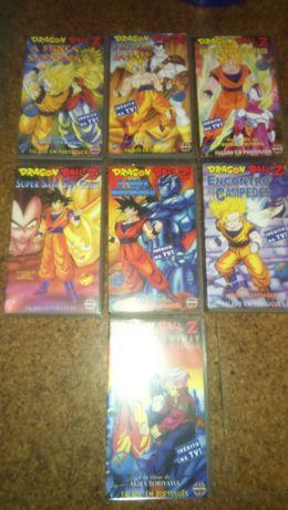 Cassetes de vídeo Dragon Ball (VHS)