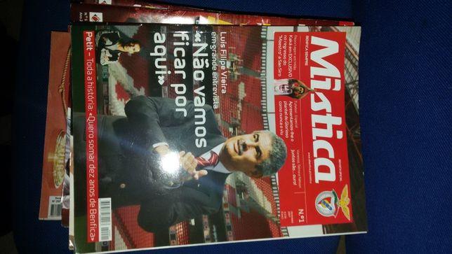 revistas Mística Benfica