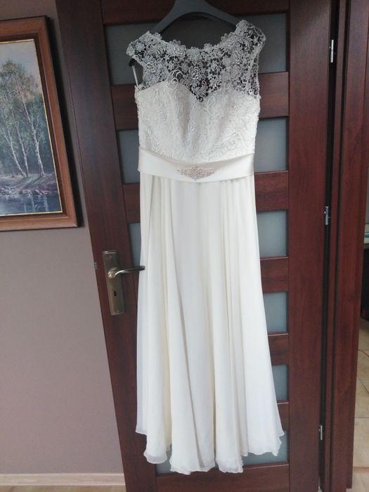 Suknia ślubna Margarett rozm 42 Lubin - image 1