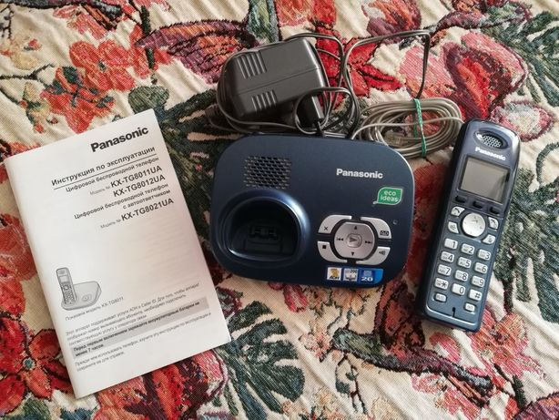 Беспроводной телефон Panasonic KX-TG8021