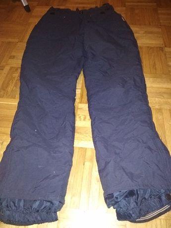 profesjonalne spodnie narciarskie, granatowe, Dunlop - rozmiar 152