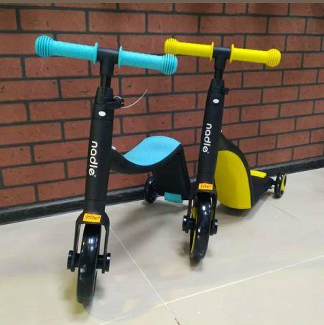 Беговел Nadle велосипед самокат трансформер 3в1