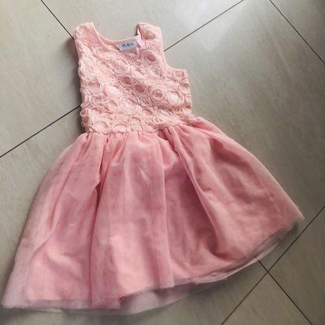 Rozne sukienki prawie nowe 128-134