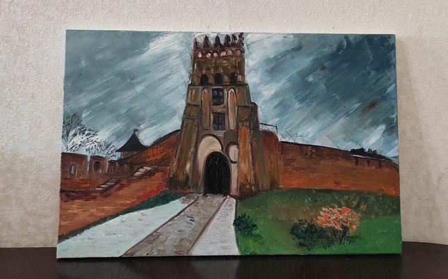 Картина маслом Луцький замок ( замок Любарта).