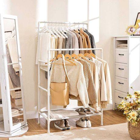 Вешалка для одежды с двойными рельсами SONGMICS (из Германии)