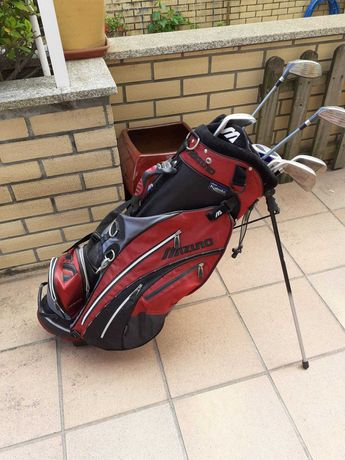 Saco De Golfe Com 8 Ferros Mizuno - Bags and Irons Mizuno