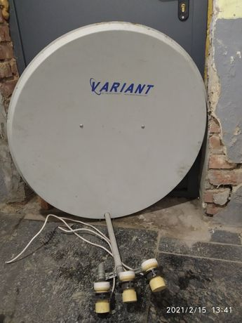Тарілка супутникова