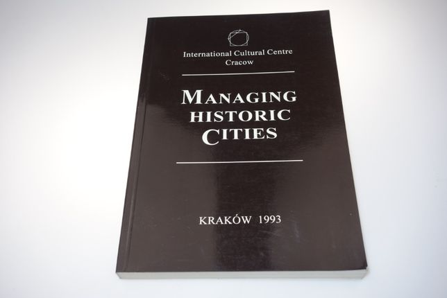 Managing historic cities 1993