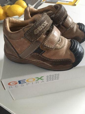 Geox 20 buciki skórzane do nauki chodzenia