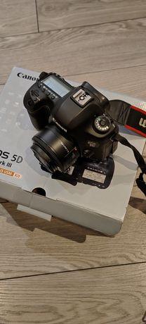 Aparat Canon 5d mark III bdb stan obiektyw gratis