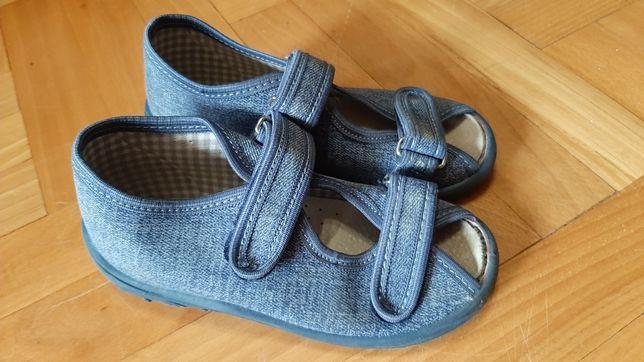 Buty sandały rzepy 27
