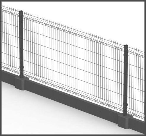 PANELE ogrodzeniowe ogrodzenie PANELOWE montaż ogrodzenia siatka