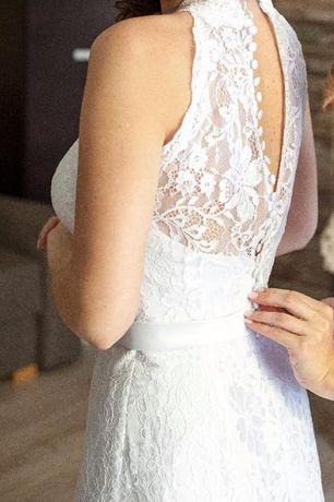 Koronkowa Suknia Ślubna kolekcji AGNES