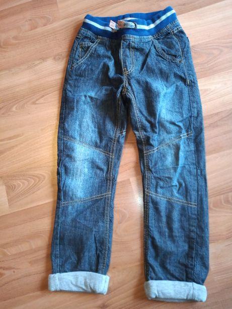 Jeansy dla chłopca Cool Club z podszewką materiałowa (rozmiar 122cm)