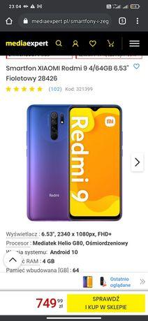 Xiaomi redmi 9 64 GB, możliwa wymiana