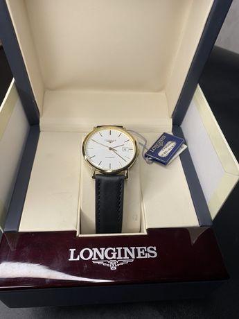 Золотые (750) часы Longines L4.787.6.12.2 в идеале с документам