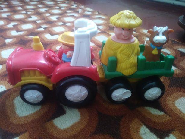 Трактор музичний Fisher price Little people
