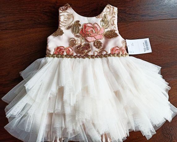 Sukienka wizytowa roz. 80