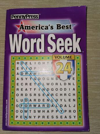 Łamigłówki słowne, szukanie słówek po angielsku