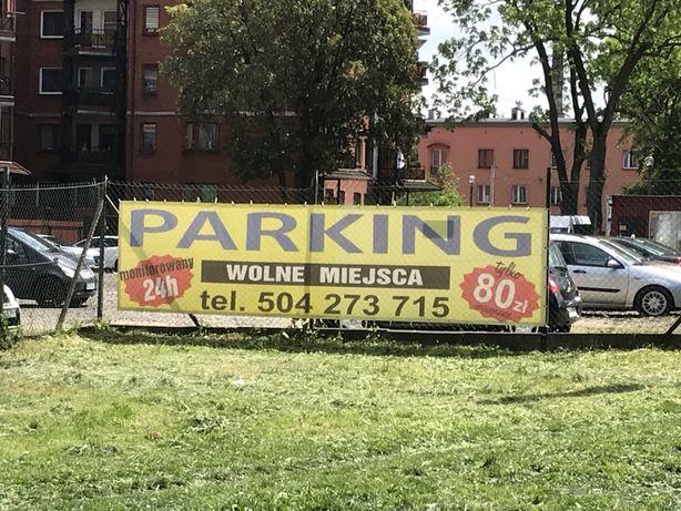 Parking miejsce parkingowe postojowe Zawiercie ulica Leśna