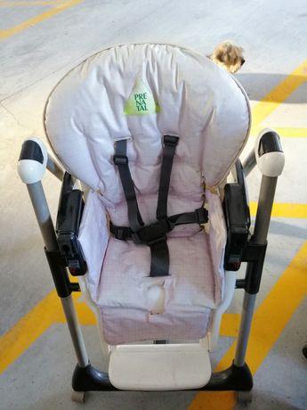 Cadeira de refeição para crianca pre natal