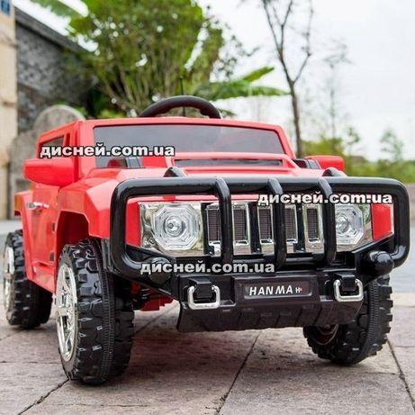 Детский электромобиль Hummer T-7836 красный, Дитячий електромобiль