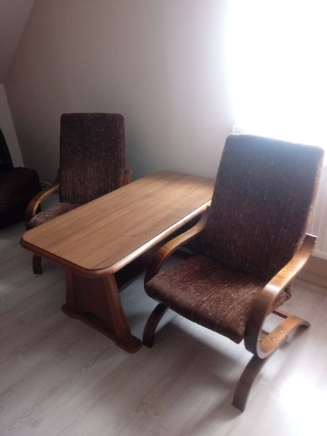 Ława i komplet 2 foteli