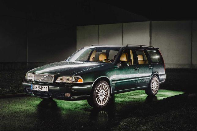 Volvo V70 2.5D 2000r / bogata opcja, skóra + drewno