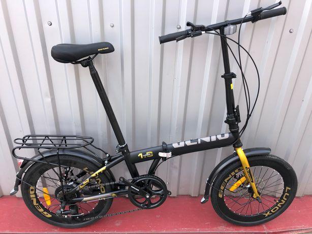 "Новий складний велосипед «Crossride Sity Folding 20'"" Shimano"
