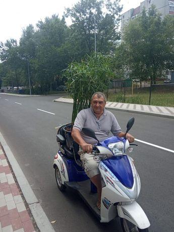 Скутер трицикл электрический.