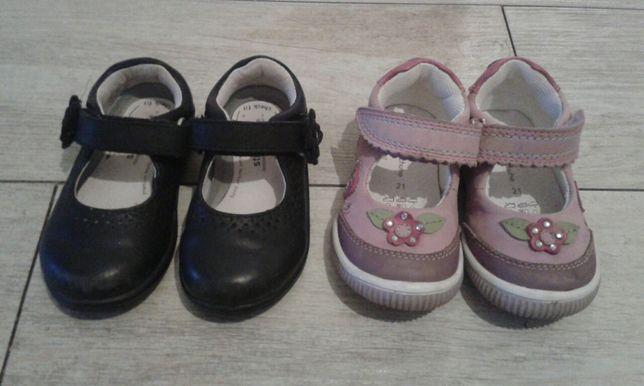 Balerinki, pantofelki skórzane roz. 21,22