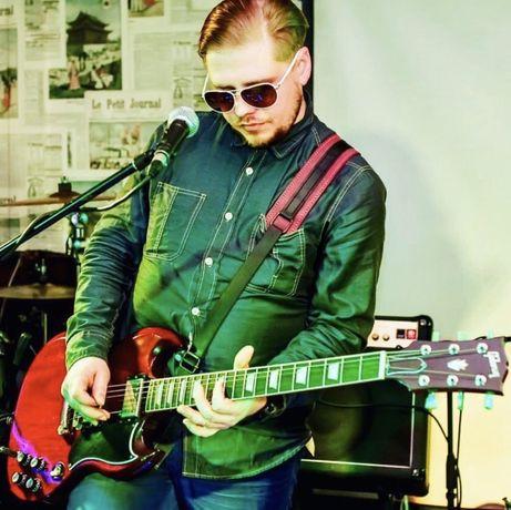 Гітарист, приєднаюся до комерційного проекту, кавер гурту...