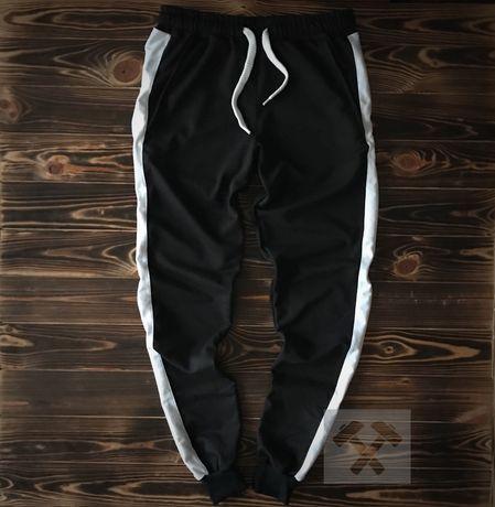 Спортивные мужские весенние штаны с лампасами. Брюки ТОП-качество!