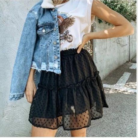 Школьная юбка чёрная
