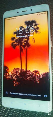 Xiaomi Redmi Note 4X 4/64 Gb, 10 ядер, цвет розовый.