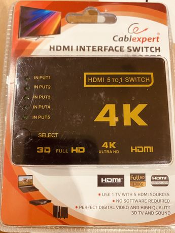 Switch 5 TO 1 HDMI