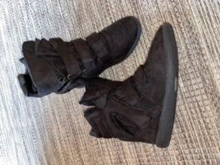 Buty sneakersy czarne