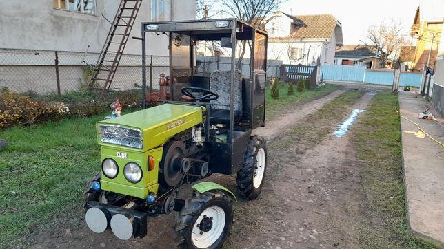 Мото трактор зубр 15 к .с