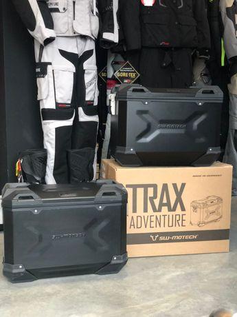 Zestaw 2 kufrów TRAX Adventure SW-MOTECH, BMW, SUZUKI, HONDA KTM,