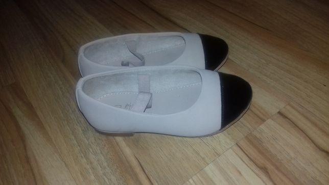 baleriny, buty dla dziewczynki 22, ZARA