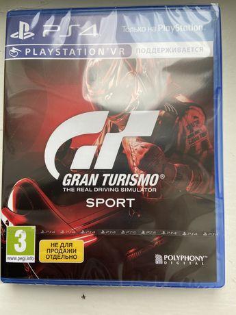 Ігровий диск PS4 Sony Gran Turismo Sport (підтримка VR) [PS4, Russian