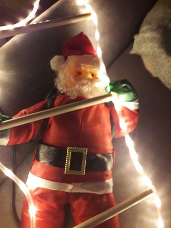 Mikołaj na balkon dlbo w domu