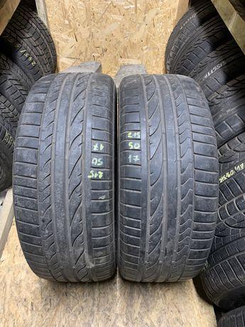 "2szt para Bridgestone Potenza RE050A 215/50R17 91W ""2908"" LATO"
