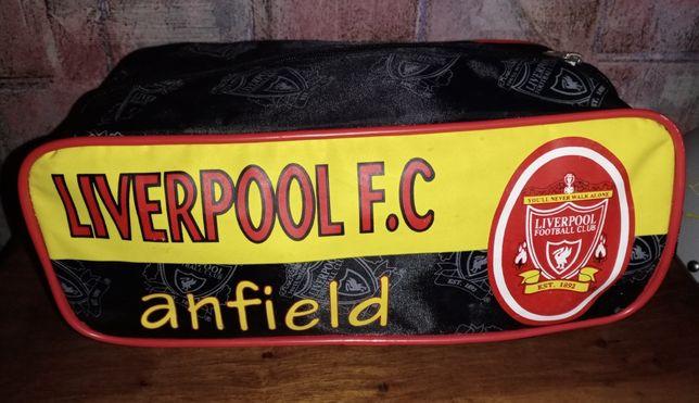 Спортивная сумка FC Liverpool, для формы и обуви