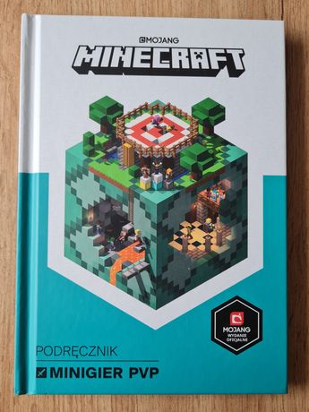 Minecraft podręcznik minigier PVP stan idealny