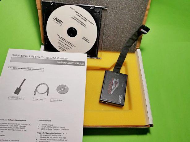 C2000 XDS510LC USB Emulator, Эмулятор, XDS510LC JTAG DSP